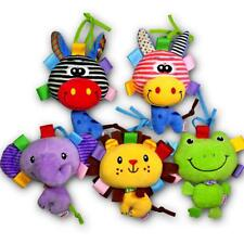Cute Infant Toys Plush Musical Crib Stroller Toys for Baby Girls and Boys Gifts