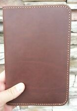 Leather Moleskine Large Journal Cover, Leather Notebook Journal, Brown, 5 x 8.25