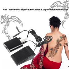 Professionals Tattoo Power Supply Foot Pedal Switch For Power Machine Gun W6D6