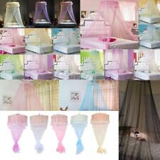 Elegant Round Curtain Bed Mosquito Net Mesh Canopy Netting Princess Dome Bedding