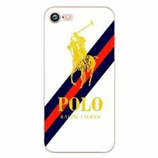 luxury logo Polo Ralph Lauren hard plastic cell phone for iphone cover case