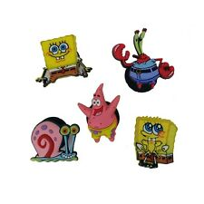 Jibbitz Brand Authentic Crocs Shoe Charms SpongeBob Patrick Gary Mr Krabs NWT
