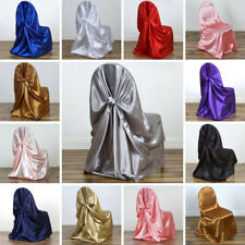 Universal Satin Pillowcase CHAIR COVERS Wedding Reception Party Decorations SALE