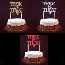 20pcs Trick or Treat Cake Topper Cake Centerpieces Halloween Party Supplies