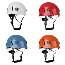 Vent Professional Rock Climbing Caving Rappelling Kayak Rescue Head Hat Helmet