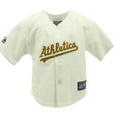 Oakland Athletics Baseball Official Infant Baby Toddler Size MLB Jersey New