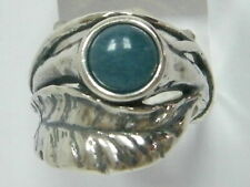 Designed 925 Sterling Silver Ring Shablool nature Blue Kyanite Jewelry
