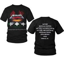Metallica Master Of Puppets Rock Band Metal Adult Mens T Tee Shirt 50040117