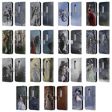 OFFICIAL NENE THOMAS FAIRIES LEATHER BOOK WALLET CASE COVER FOR MOTOROLA PHONES