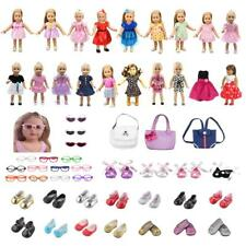 Stylish Clothes Dress Bag Shoes Fashion Accessories for 18'' American Girl Doll