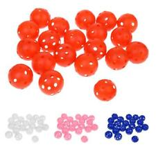 20 Pieces Golf Balls Hollow Perforated Practice Training Tennis Ball