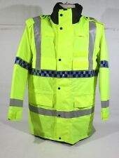 Ex Police Hi Vis Waterproof Jacket With Reflective Strips