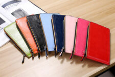 18 Card Slots Zipper Long Wallet Cover Purse Credit Bank Cards Holder-Women Lady