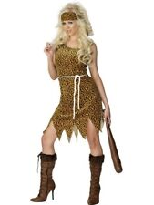 Adult Sexy Cavewoman / Jungle Jane Ladies Fancy Dress Hen Party Costume Outfit
