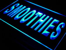 i627-b Smoothies Cafe Shop Open Bar Pub Neon Light Sign