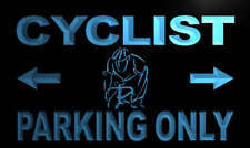 m261-b Cyclist Parking Only Neon Light Sign