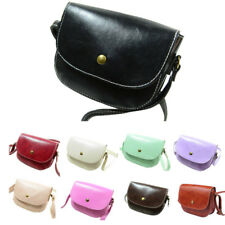 Fashion Retro Women Ladies Messenger Bags Chain Shoulder Bag Leather Crossbody