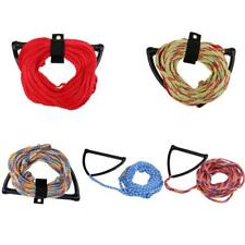 75' 1 Section Water Ski Wakeboard Tow Rope with Handle Grip for Jet Boat River