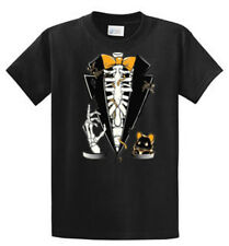 Halloween Tux Printed Tees Mens Regular and Big and Tall Sizes Port & Company