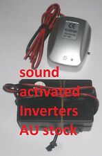 Sound activated Inverters for EL wires, choose for what length of  EL wire