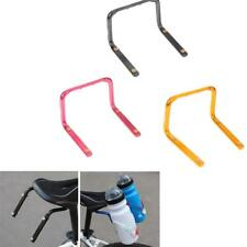 Bicycle Bike Seat Post Double Water Bottle Cage Holder Bracket Rack Adapter