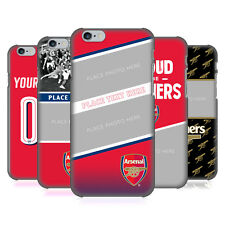 CUSTOM CUSTOMIZED PERSONALIZED ARSENAL FC 2017/18 CASE FOR APPLE iPHONE PHONES
