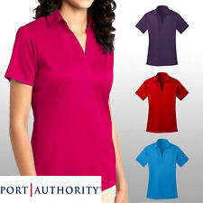 Port Authority Ladies Silk Touch Dri-Fit Performance Golf Polo Shirt L540 - NEW