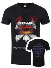 Metallica Master of Puppets Mens Black T-Shirt - NEW & OFFICIAL