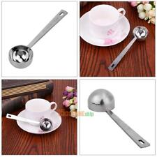 15ML/30ML Coffee Scoop Thicken Stainless Steel Tablespoon Measuring Spoon #ORP