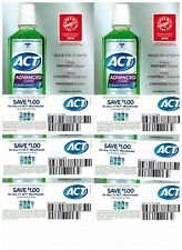 ACT MOUTHWASH COUPONS SAVE $1 OFF X 6 EXPIRES 12-31-2017