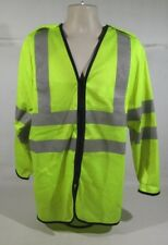 Ex Police Hi Vis Lightweight Long Sleeve Top With Silver Reflective Strips