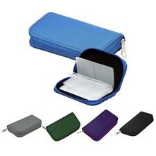 22 Slots SD/CF Mini Micro Memory Card Storage Pouch Case Holder Wallet Binder