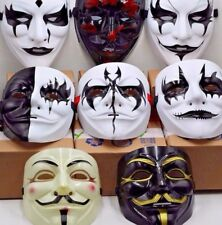 V for Vendetta Mask Anonymous Guy Fawkes Occupy Hallow Adult Costume
