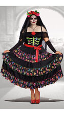 Female Plus Size Lady Of The Dead Costume