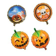 Halloween Pumpkin Foil Balloon Party Decoration Props Kids Toy 18 in