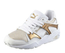 Puma Blaze Women's Shoes White Gold Color Genuine Sneakers Free Ship