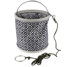 Collapsible Folding Water Bucket with Storage Bag for Camping Hiking Fishing