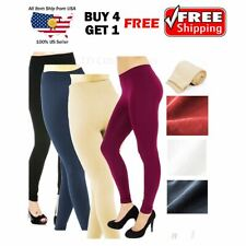 Womens Fleece Lined Thermal Slim Winter Leggings Warm Thick Stretch Pants buy 5