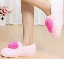 New Indoor Warm Cashmere Slippers Winter Ladies Casual Soft Padded Shoes Women