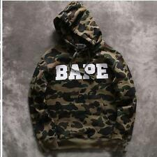 2017 Hot Sale Men's A Bathing Ape Popular Camo Cotton Casual Sweats Bape Hoodie
