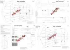 Classical Guitar Plans Working Drawings