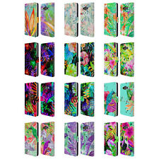OFFICIAL HAROULITA TROPICAL LEATHER BOOK WALLET CASE COVER FOR SAMSUNG PHONES 2