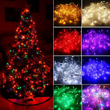 10M 100 LED Christmas Tree Fairy String Lights Multi-Color Party Lamp Waterproof