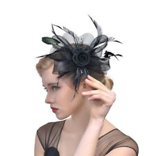 Hair Jewelry Women Banquet 1Pcs Veil Delicate Feather Hats Brides Jewelry