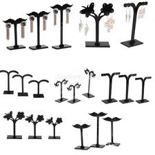 3 Pieces/ Set Acrylic Tree Earring Necklace Jewelry Display Stand Rack Holder