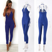 Women's Slim Bandage New Sexy Rompers Trousers Sling Jumpsuit 1Pcs