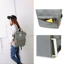 1 Pcs Student school backpack Women simple shopping pack Canvas bookbags