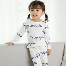 "Kids 12M-7T Long Clothes Baby Pajama Set Toddler Girls ""G40 Style"" Vaenait"