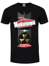 Nuketown Men's Black T-shirt