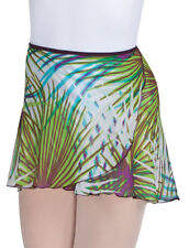 Women's Body Wrappers 15'' Print Skirt